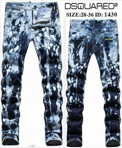 jeans dsquared avignon jean dsquared w36 l36 jeans dsquared slim homme pas cher. Black Bedroom Furniture Sets. Home Design Ideas